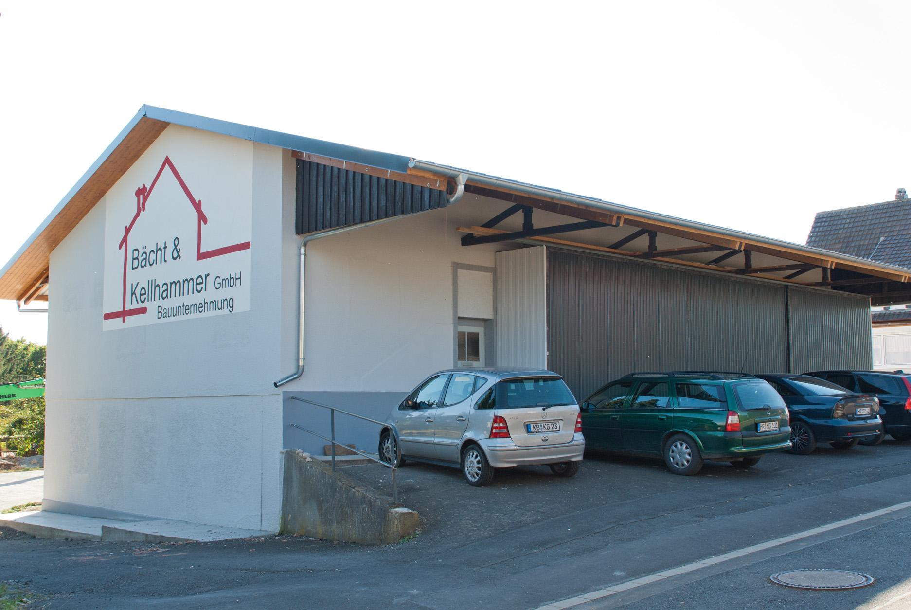 Lagerhalle der Bächt&Kellhammer GmbH